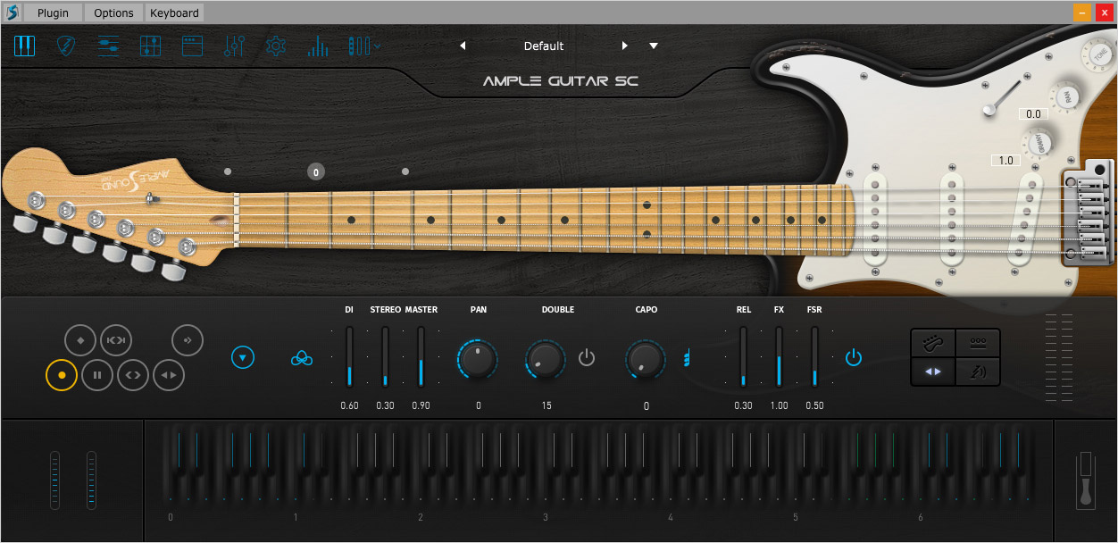 Ample Sound Ample Guitar Stratocaster v3.1.0 WiN/OSX插图1